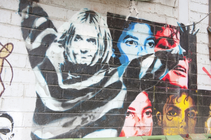 Nirvana-grafitti i Melbourne